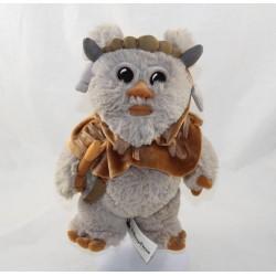 Ewok Chef Chirpa DISNEY PARKS Star Wars brown grey Disney 24 cm