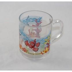 Nemo DISNEY PIXAR Glass Mug The World of Nemo Fish 9 cm