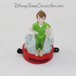 Figurine tampon DISNEYLAND PARIS Mcdonald's Peter Pan et Fée Cochette Mcdo Disney 7 cm
