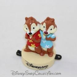 Figurine tampon écureuils DISNEYLAND PARIS Mcdonald's Tic et Tac Mcdo Disney 7 cm