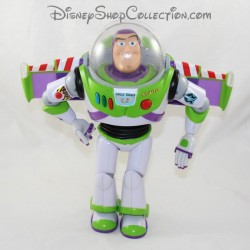 Talking Figure Buzz the Lightning THINKWAY TOYS Disney Toy Story Pixar habla en francés 30 cm