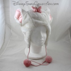 Marie cat bonnet DISNEYLAND PARIS hides adult-sized pink white ears Disney