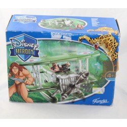 Playset figurine hydravion Tarzan DISNEY FAMOSA avion Disney Heroes 2004