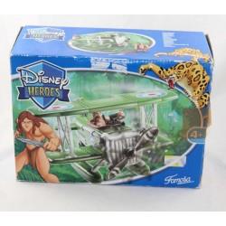 Playset seaplane figurine Tarzan DISNEY FAMOSA aircraft Disney Heroes 2004