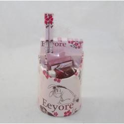 Set papeterie Bourriquet DISNEY pot à crayons garni fournitures scolaires