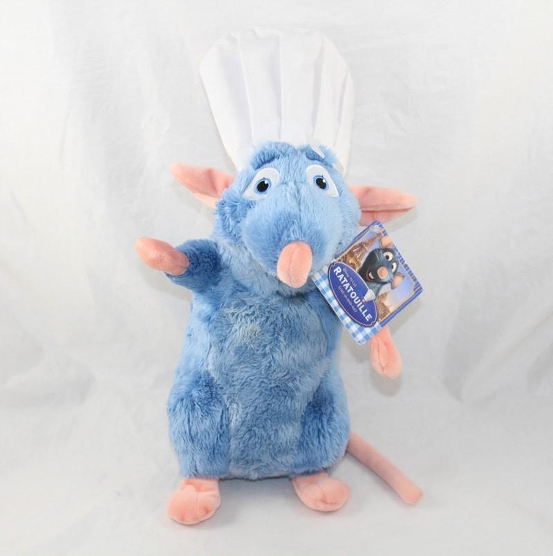 Peluche Ratatouille Original Disney Pixar Énorme Géant 42 CM Chef Cuisinier