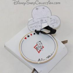 Tea Time DISNEYLAND PARIS Alice in Disney Ceramic Wonderland 8 cm
