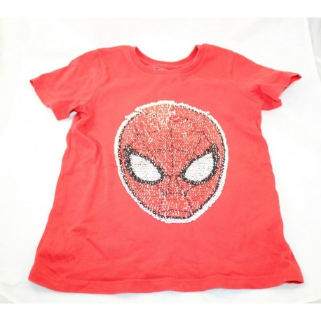 T-shirt Spider-Man C&A Marvel garçon enfant 7 ans Disney Spiderman