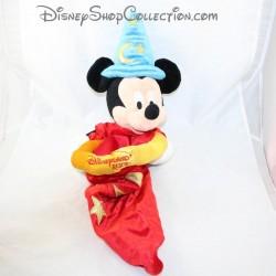 Peluche fourre tout Mickey DISNEYLAND PARIS Fantasia sac chapeau à l'envers Disney 63 cm