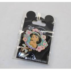 Pin's Jasmine DISNEYLAND PARIS Aladdin Royal Princess Flowers