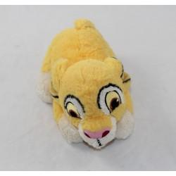 Simba DISNEY NICOTOY The King lion plush playful lying 25 cm