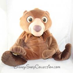 Grande peluche Koda ours HASBRO Disney Frère des ours allongé 60 cm
