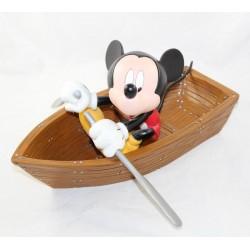Grande figurine Mickey DISNEY barque bateau statuette collection 37 cm