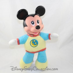 Peluche vintage MATTEL Walt Disney Company Mickey en pyjama 1990 33 cm