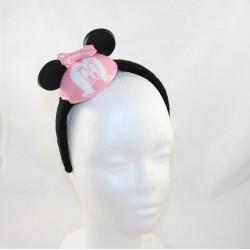 Stirnband Minnie DISNEYLAND PARIS Minnie Mouse Ohren rosa Disney Hut
