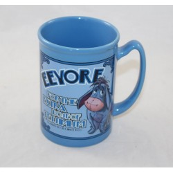 Taza en relieve Bourriquet DISNEY STORE Eeyore pesimismo azul cerámica azul azul