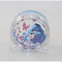 Despertar burro Bourriquet DISNEY Winnie la alarma pooh azul transparente 9 cm