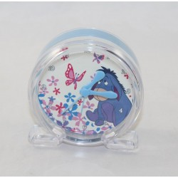 Réveil âne Bourriquet DISNEY Winnie l'ourson bleu transparent alarm 9 cm