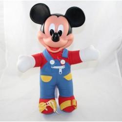 Puppe verkleiden mickey DISNEY MATTEL Vintage rot blau 38 cm