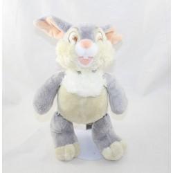Peluche articulée lapin Pan Pan DISNEY STORE Bambi écusson coutures membres 30 cm