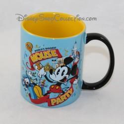Taza grabada Mickey DISNEYLAND PARIS Mickey Mouse Party 3D Disney 11 cm