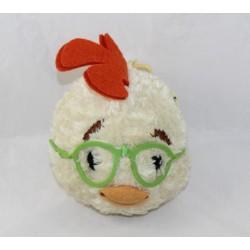 Livre tête Chicken Little DISNEY Les Babiluches Hachette peluche tête 12 cm