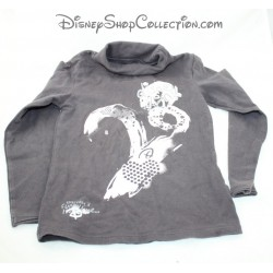 Minnie Mouse LONG-sleeved T-shirt DISNEY BABY fleece golden white 24 months