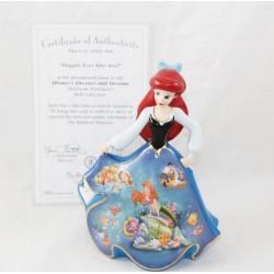 Figura de porcelana Ariel DISNEY Bradford Edición Limitada Bell Editions The Little Siren