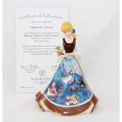 Figura de porcelana de Cenicienta DISNEY Bradford Edición Limitada Bell Edition