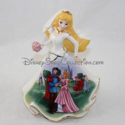 Figurine porcelaine Aurore DISNEY Bradford Editions Bell mariée édition limitée La Belle au bois dormant