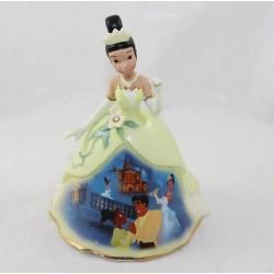 Figura de porcelana de Tiana DISNEY La princesa y la rana Bradford Ediciones Bell EL