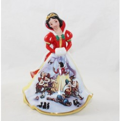 Disney Bradford Edición Limitada Figura de Porcelana BlancaNieves DISNEY Bradford Ediciones Bell Christmas