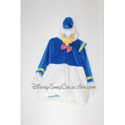 DISNEY STORE Duck Disguise Donald Blue White Velvet 3/5 Years