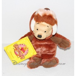 Peluche Winnie l'ourson DISNEY STORE Morse marron 22 cm