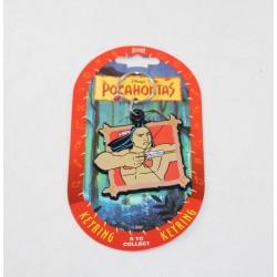 Porte clés Kocoum DISNEY Pocahontas vintage Dufort 8.5 cm
