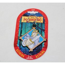 Key door John Smith DISNEY Pocahontas vintage Dufort 8.5 cm