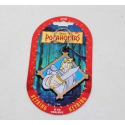 Porte clés John Smith DISNEY Pocahontas vintage Dufort 8.5 cm