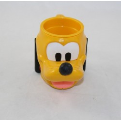 3D head cup Pluto DISNEY Nestlé mickey plastic dog 15 cm