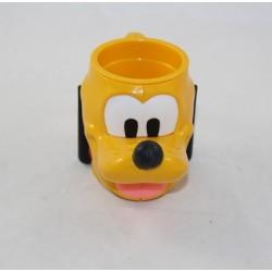 Copa de cabeza 3D Pluto DISNEY Nestlé mickey perro de plástico 15 cm