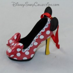 Mini chaussure décorative DISNEY PARKS Minnie ornement Sketchbook 8 cm