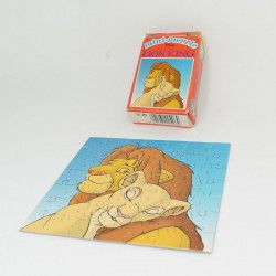Mini puzzle The Lion King DISNEY Mika Lion King Simba and Nala vintage