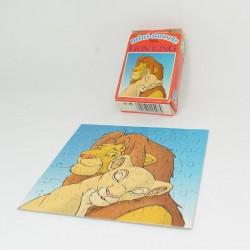 Mini puzzle The Lion King DISNEY Mika Lion King Simba and Nala vintage