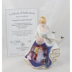 Figura de porcelana De Cenicienta DISNEY Bradford Edición Limitada Novia Bell Boda