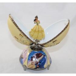 Porcelain Figure Musical Egg Belle DISNEY Ardleigh Elliott Beauty and the Beast