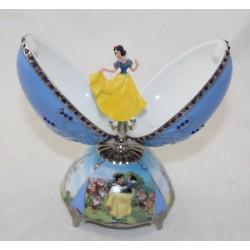 Figurine porcelaine oeuf musical Blanche Neige DISNEY Ardleigh Elliott