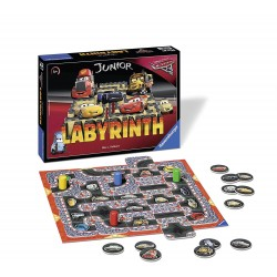 Juego de mesa Labyrinth Cars 3 DISNEY PIXAR Ravensburger Junior