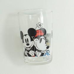 Mickey DISNEY Glass The True Original vintage Amora mustard