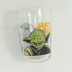 Glass Star Wars DISNEY Master Yoda and Darth Vader Amora mustard