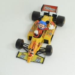 Mickey BURAGO Figure Yellow Race Car Formula 1 Racing 1/24