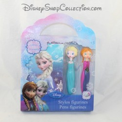 DISNEY Snow Queen Frozen 1 notebook and 2 Pens Anna and Elsa pens
